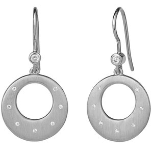 Halo starry earring - silver