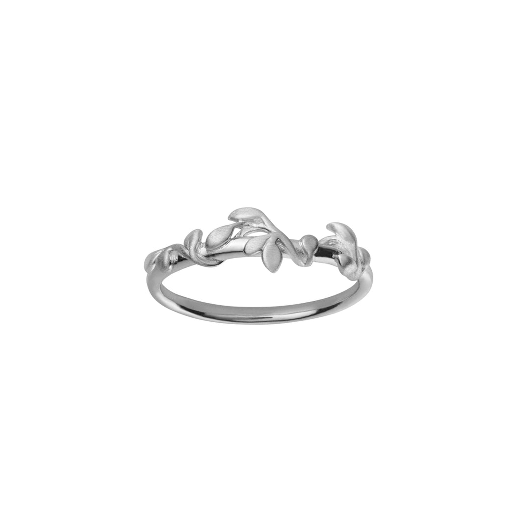 Jungle Ivy ring - silver