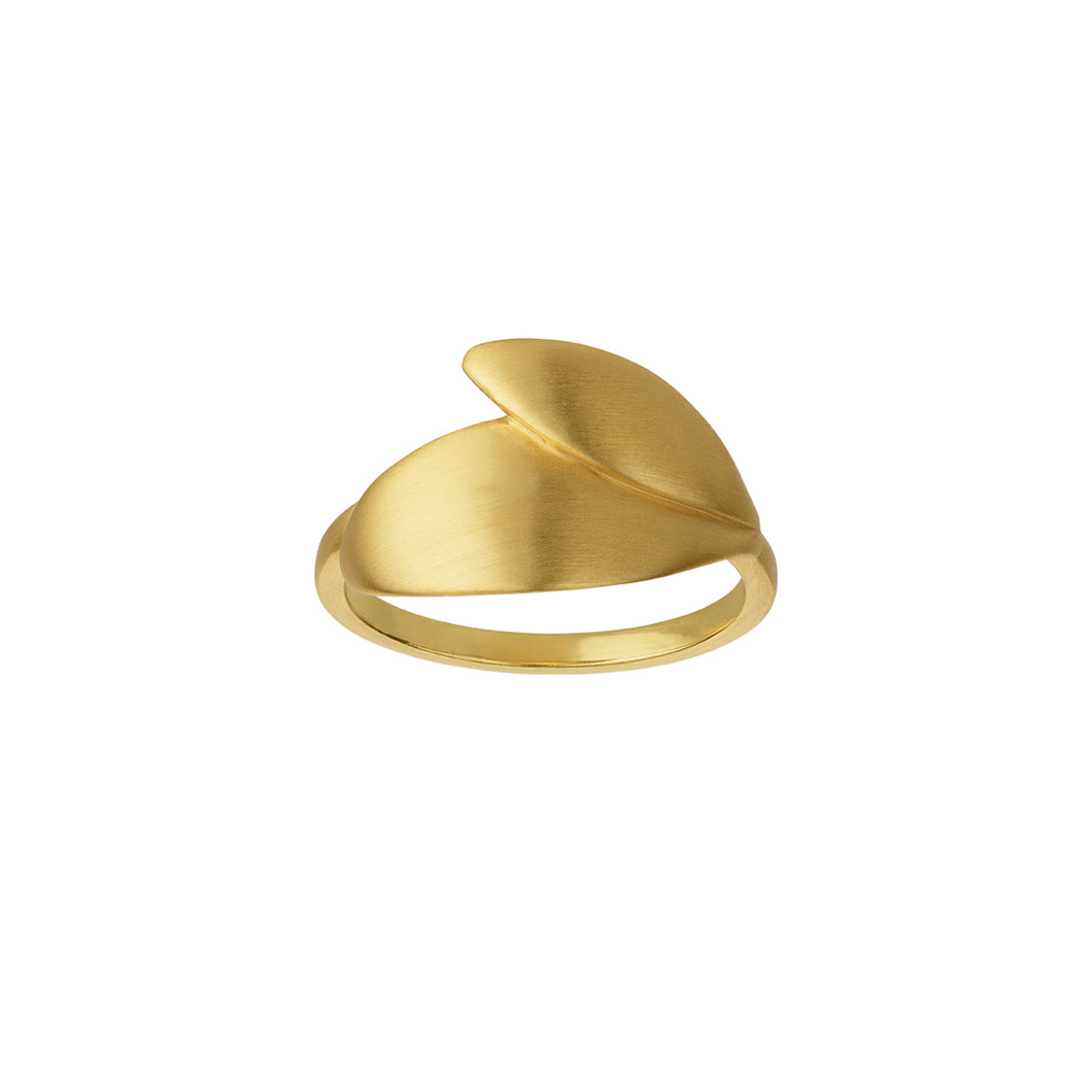 Olive ring - gold