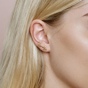 Jungle Ivy earring - gold