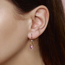 Load image into Gallery viewer, Prisma earring - pink gold