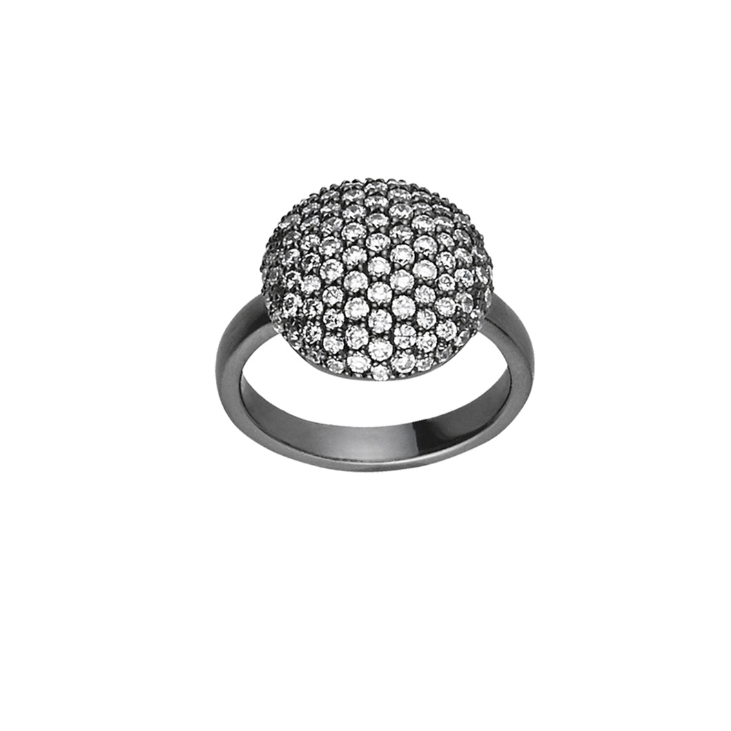 Sparkle ring - black