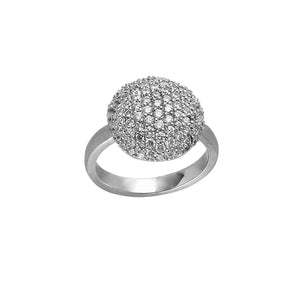 Sparkle ring - silver