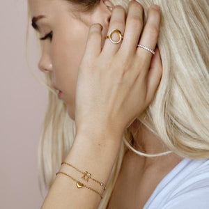 Sweet Love bracelet uno - gold