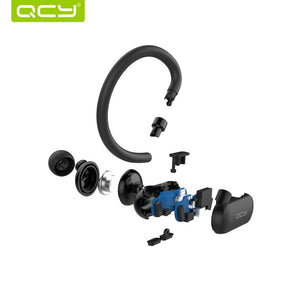 Bluetooth Wireless Headphones, Sweat-proof Headphones Sports Running Headsets with Bluetooth 4.1 aptX Stereo Sound - BelCorner