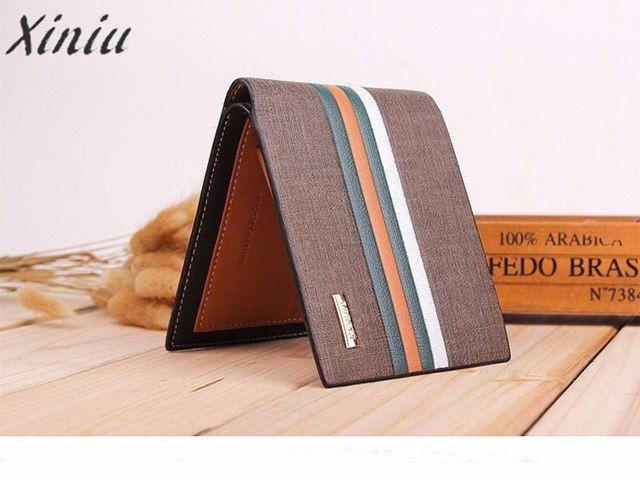 Men Wallets work Business Striped Short - BelCorner