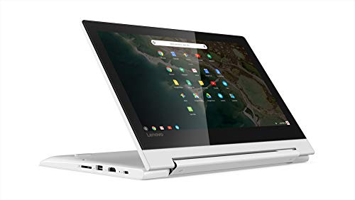 Lenovo Chromebook C330 2-in-1 Convertible Laptop, 11.6-Inch HD (1366 x 768) IPS Display, 4GB LPDDR3, 64 GB eMMC, Chrome OS - BelCorner