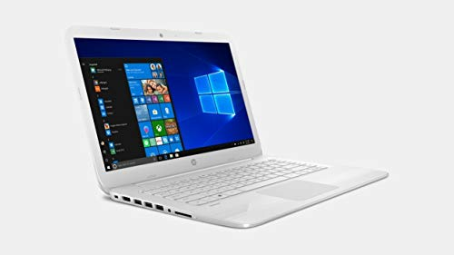 HP 14-inch Full HD Stream Laptop PC (Intel Celeron N3060, 8GB RAM, 64GB eMMC, White) with Office 365 Personal for one year - BelCorner