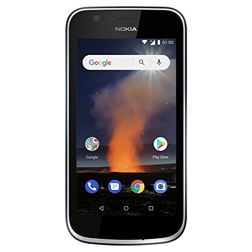 Nokia 1 - Android One (Go Edition) - 8 GB - Dual SIM LTE Unlocked Smartphone (AT&T/T-Mobile/MetroPCS/Cricket/H2O) - BelCorner