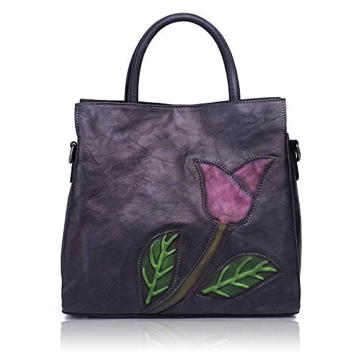 APHISON Designer Soft Leather Totes Handbags for Women, Ladies Satchels Shoulder Bags - BelCorner