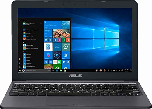 Asus Thin and Lightweight 11.6 HD Laptop, Intel Celeron N4000 Processor, 2GB RAM, 32GB eMMC Storage, 802.11AC Wi-Fi, HDMI, USB-C - BelCorner