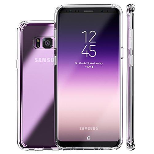 Galaxy S8 Plus Case, Clear Perfect Fit Hard Anti-Scratch, Full Body Shockproof Protective Cover for Samsung Galaxy S8 Plus - BelCorner