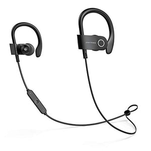 Bluetooth Headphones, Sport Earbuds with Microphone, Noise Cancelling Earphones for Running - BelCorner