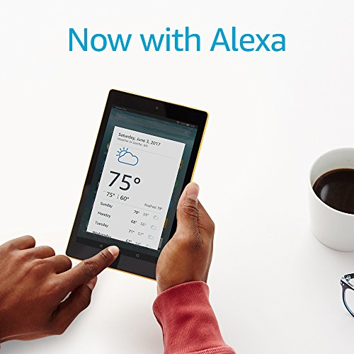 "Fire 7 Tablet with Alexa, 7"" Display, 8 GB, Black - BelCorner"