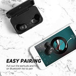 True Wireless Earbuds Bluetooth 5.0 Headphones in-Ear Stereo Wireless Earphones with Microphone Binaural Calls, One-Step Pairing, 55 Hours Playtime-Upgraded - BelCorner