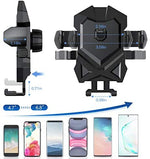 Universal Long Neck Suction Car Phone Mount Compatible iPhone 11 Pro Xs XS Max XR X 8 8 Plus 7 Samsung Galaxy S10 S9 S8 LG Nexus Sony and More (Dark Gray)