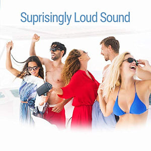Bluetooth Portable Speaker, Louder Volume, Crystal Clear Stereo Sound, Rich Bass, 100 Foot Wireless Range, Microphone, IPX5, Bluetooth Speakers - BelCorner