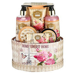 "Large Luxury ""Complete Spa at Home Experience"" Gift Basket for Women - BelCorner"