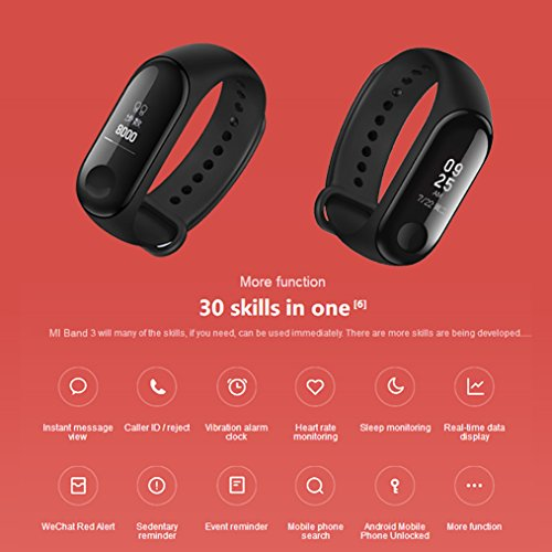 Xiaomi Mi Band 3 Fitness Tracker 50m Waterproof Smart Band Smartband OLED Display Touchpad Heart Rate Monitor Wristbands Bracelet - BelCorner
