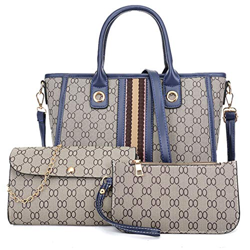 Waterproof Scratch Resistant Leather Handbags Set for With a Purse - BelCorner