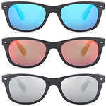 Gamma Ray Polarized Sunglasses Men and Women 3 Pack