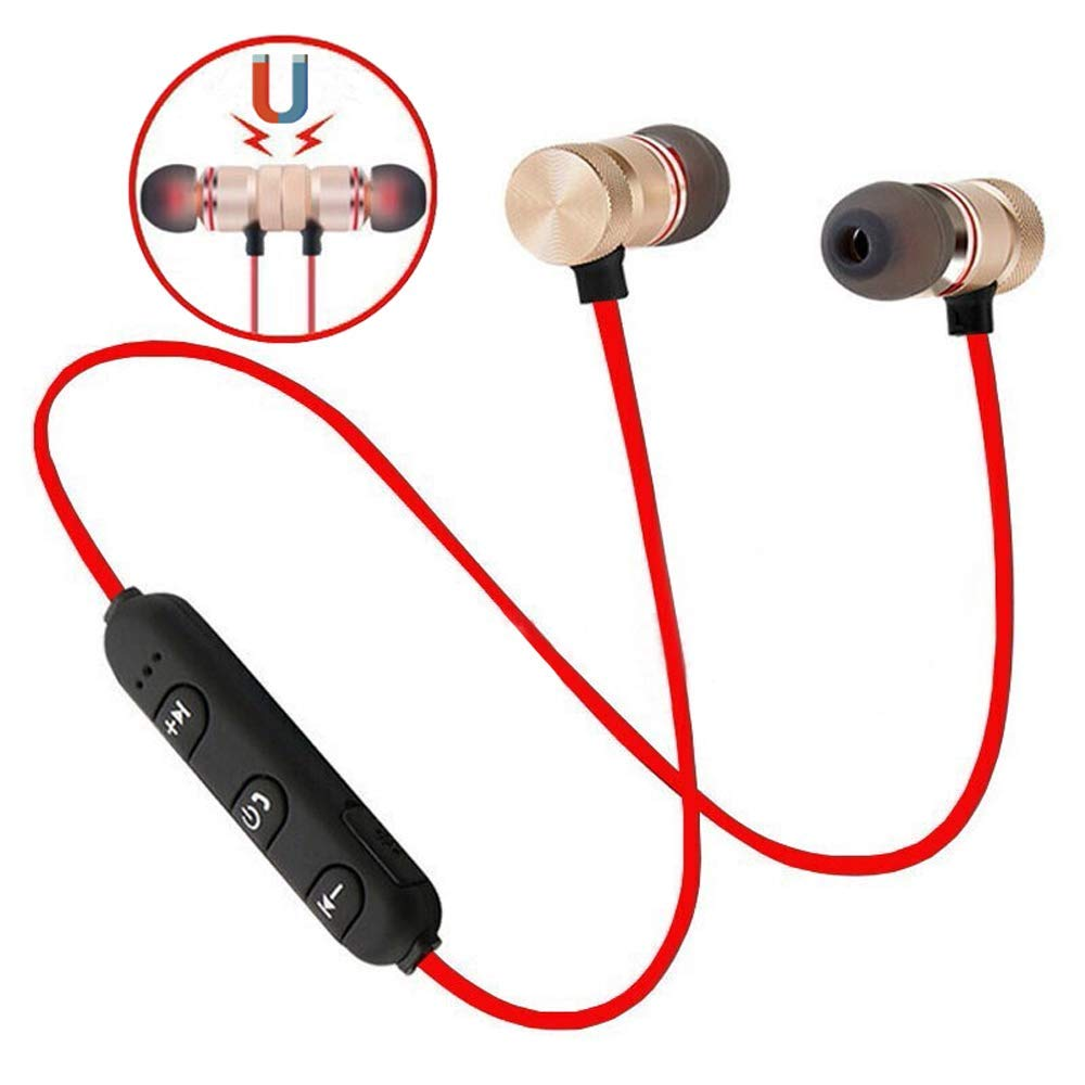 Bluetooth Headset 4.1 Stereo Earphone Wireless Magnetic In-Ear Earbuds Headphone - BelCorner