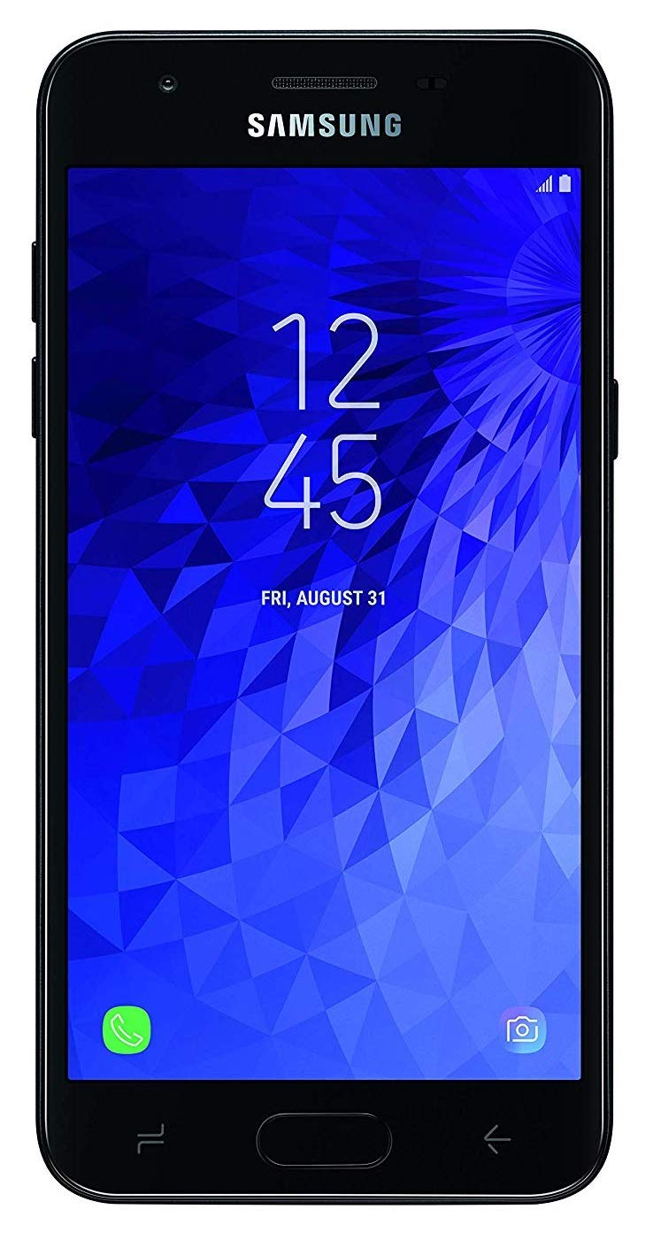 Samsung Galaxy J3 (2019) 16GB Unlocked GSM 4G LTE Phone w/ 8MP Camera - Black - BelCorner