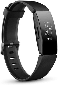 Fitbit Inspire HR Heart Rate and Fitness Tracker, One Size (S and L bands included)