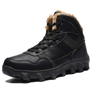 Men Winter Outdoor Hiking Waterproof Snow Boots