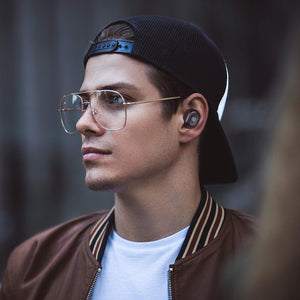 True Wireless Bluetooth Earbuds in-Ear Stereo Bluetooth Headphones Wireless Earphones (Bluetooth 5.0, Built-in Mic, Stereo Calls, Total 15 Hours Playtime) - BelCorner