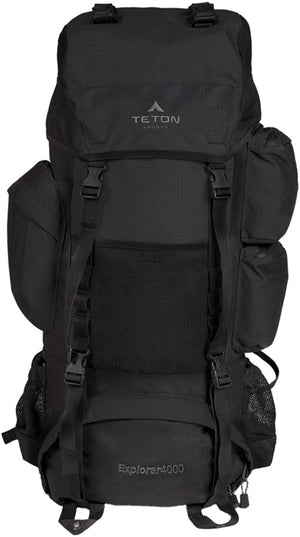 TETON Sports Explorer 4000 Internal Frame Backpack; High-Performance Backpack for Backpacking, Hiking, Camping
