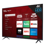 43 Inch 4K Ultra HD Smart Roku LED TV (2018) (Renewed) - BelCorner