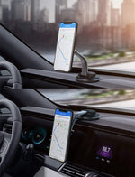 Car Phone Mount 360 Degree Rotation Dashboard Magnetic Cell Phone Holder for Car Compatible with iPhone 11 Pro Max / 11 / XS Max/XS / 8/7, Samsung Galaxy S10+, Google Pixel 3 XL, and More