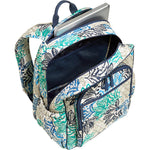 Vera Bradley Women's Campus Tech Backpack Painted Medallions Backpack - BelCorner