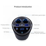 Bluetooth Wireless Car, FM Transmitter, Mp3 Player, Cup Holder - BelCorner