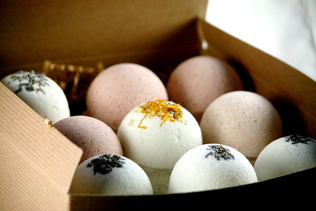 Nine Bath Bombs Gift Set, Natural Bath Bomb set, - BelCorner