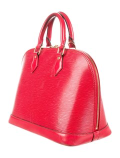 LV Red  Shell Bag - BelCorner
