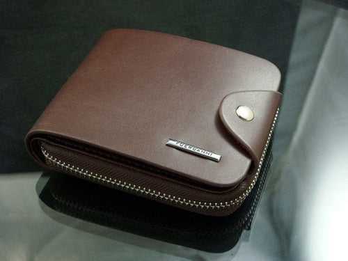 Luxury Men Wallets PU Leather ID Card Holder - BelCorner