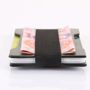 Men Metal Wallet Credit Card Holder Aluminum Money - BelCorner