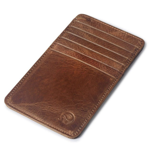 PU Leather Slim Men Credit Card Holder Brand - BelCorner