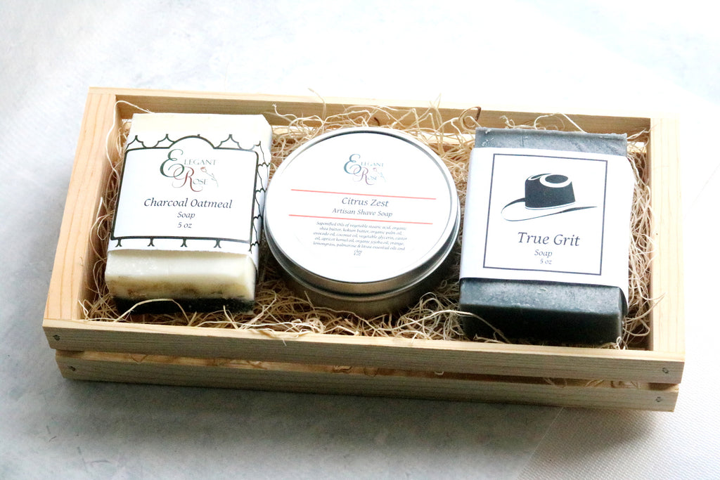 Mens Gift Set - Natural Soap Gift - BelCorner
