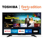 TOSHIBA 43-inch 4K Ultra HD Smart LED TV HDR - Fire TV Edition - BelCorner