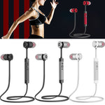 Sports Moisture and  Sweat proof Universal Wireless Bluetooth Earbuds Noise Reduction Headphones Stereo sound Headsets - BelCorner
