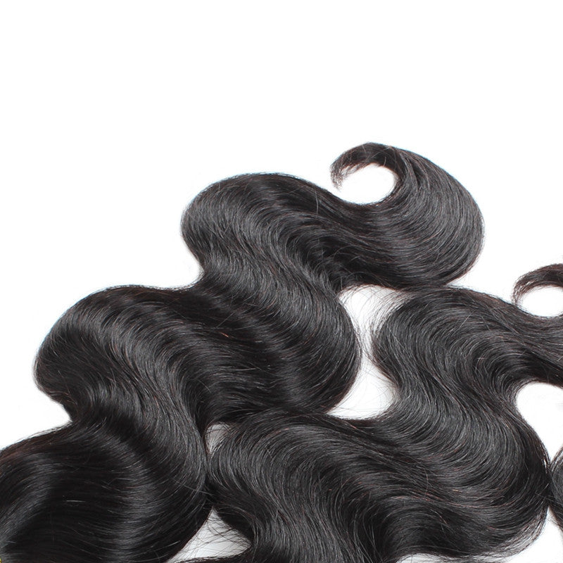 Malaysian Human Virgin hair Body Wave Hair 3 Bundles Unprocessed Human Hair Weave Wavy Hair - BelCorner