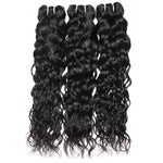 Human Virgin Hair Indian water wave Hair 3 Bundles 100% Unprocessed Human Hair Weave - BelCorner