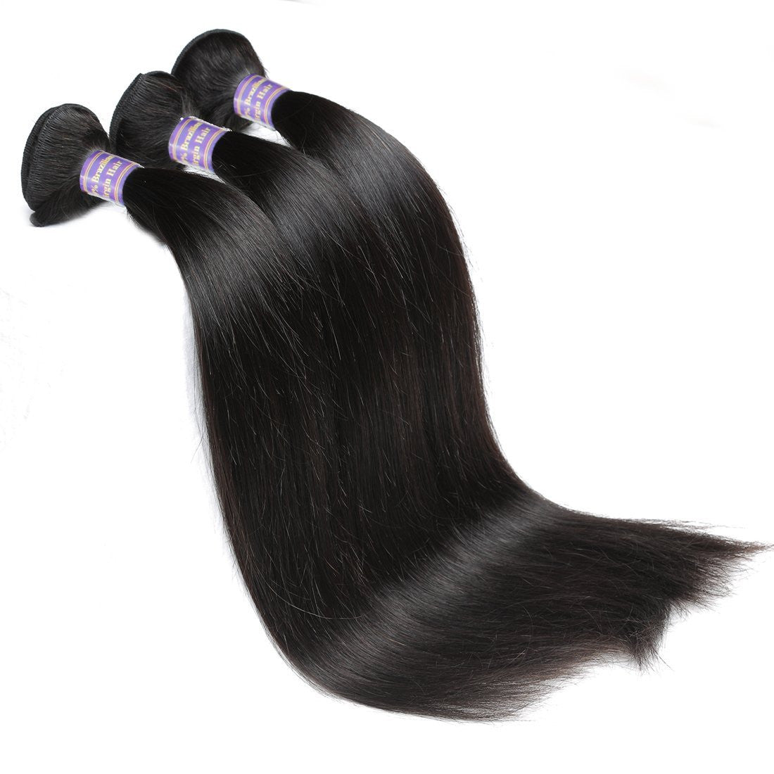 Brazilian Human Virgin Long hair Straight Hair 3 Bundles Unprocessed Human Hair Weave - BelCorner