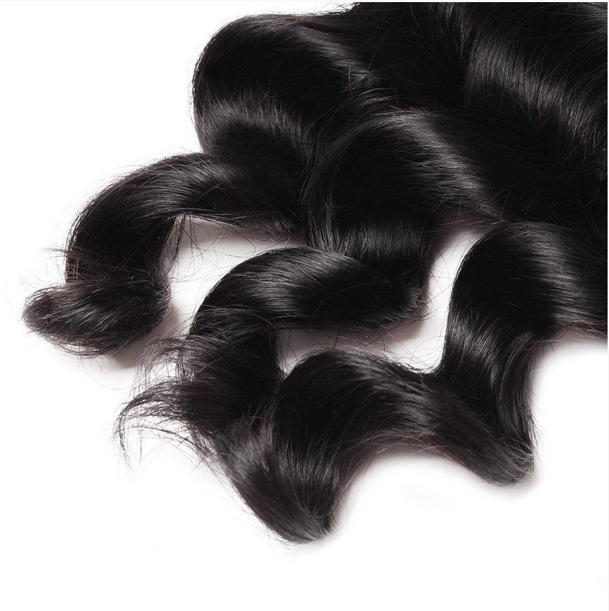 Easy Hair Indian Temple Hair Good Quality Loose Deep Hair Weft Double Weft - BelCorner