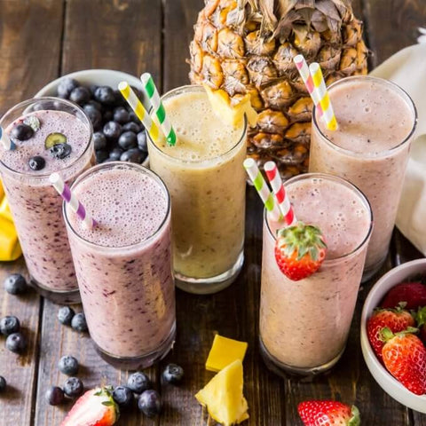 Tropical Five Fruit Smoothie
