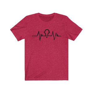 """Ice Cream Heartbeat"" Unisex Jersey Short Sleeve Tee"