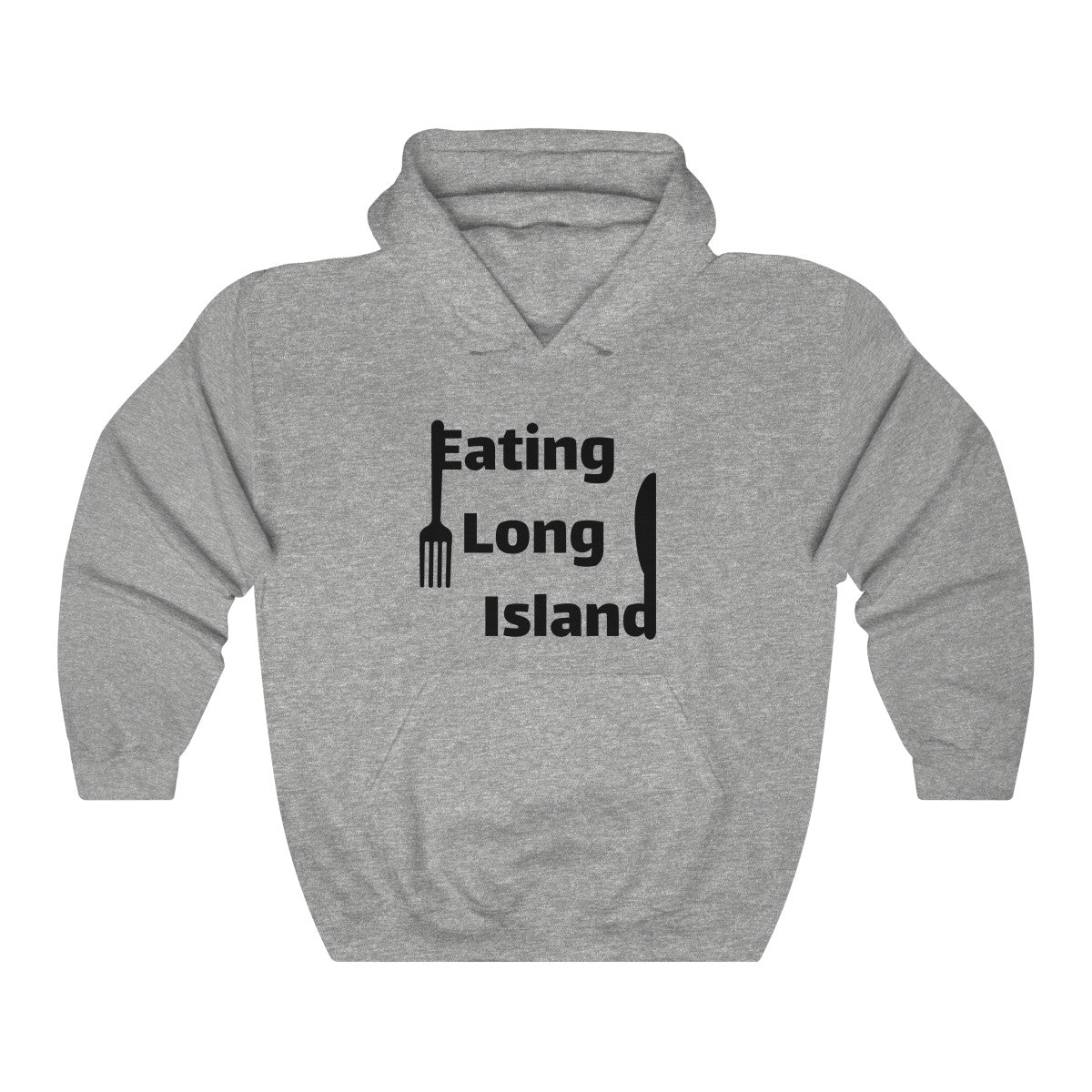 """Eating Long Island"" Unisex Heavy Blend™ Hooded Sweatshirt"